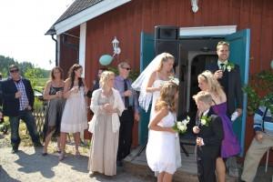 Gullbron, bröllop